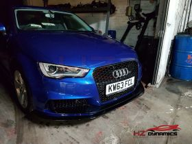 RS3 LOOK FRONT BUMPER FOR 2013 2015 AUDI A3 8V 4DR SALOON