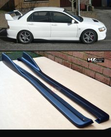 Mitsubishi Evo 8 9 CS Type Side Skirt Extensions
