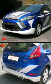 2009-2012 Ford Fiesta MK7 3DR WR Lip Kit