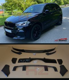 PERFORMANCE LOOK BODY KIT GLOSS BLACK FOR BMW X5 F15 2013 2017