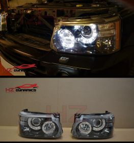 LED HEADLIGHTS FOR RANGE ROVER SPORT AUTOBIOGRAPHY 2010 2012