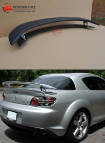 Mazda RX8 MS Type Boot Spoiler - 3 Way Adjustable