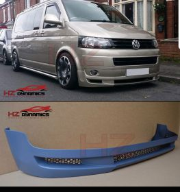 2010 > VW Transporter T5.1  Facelift A Type Front Lip - PP Plastic