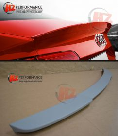 2013 - 2015 Audi A3 4DR Saloon RS Type Boot Spoiler