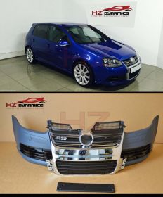 R32 Type Front Bumper + Chrome Grille FITS VW Golf MK5 3/5DR