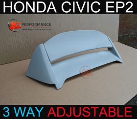 00-05 Honda Civic EP2 Sport 3DR M Type Adjustable Roof Spoiler