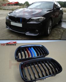 M Colour Kidney Grills FOR BMW F10 5 Series