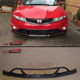 CARBON FIBER FRONT LIP FOR 2006 2011 HONDA CIVIC FN FN2 FK