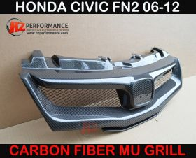 06-11 Honda Civic FN2 Carbon MG Grill