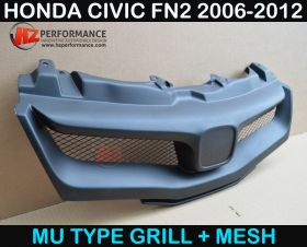 MG LOOK FRONT GRILL FOR HONDA CIVIC FN2 TYPE R 2006 2011