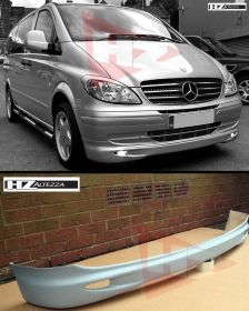 HZ LOOK FRONT LIP FOR MERCEDES VITO MK2