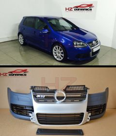 R32 Type Front Bumper + Silver Grille FITS VW Golf MK5