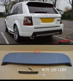 ROOF SPOILER LED LIGHT FITS RANGE ROVER SPORT 2010 2013 L320 AUTOBIOGRAPHY ABS