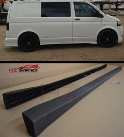 VW Transporter T5 Side Skirts Short Wheel Base