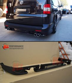 2005-2014 VW Transporter T5 Rear Bumper Lip