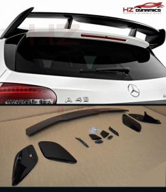 GLOSS BLACK A TYPE ROOF SPOILER FOR MERCEDES A CLASS W176 2012 2017