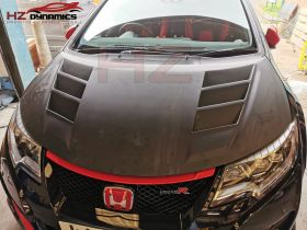 VENTED BONNET FOR HONDA CIVIC FK2 TYPE R WITH UNDERTRAYS