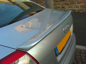 01-04 Audi A4 B6 4DR Saloon HZ Type Boot Spoiler