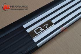 05-12 Audi Q7 Style Side Steps with LOGO