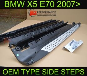 BMW X5 2007 onwards OEM Type Side Steps