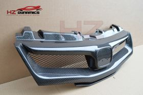 CARBON FIBER GRILL FOR HONDA CIVIC FN2 TYPE R 2006 2011