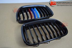 BMW F10 5 Series Gloss Black Kidney Grills Colour