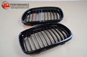 BMW E90 09-12 LCi Gloss Black Kidney Grills Colour