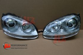 VW Golf MK5 R32 Type LED Xenon Headlights + HID KIT
