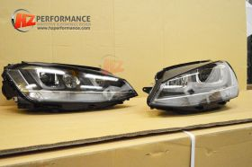 VW Golf MK7 R Type LED Xenon Headlights + HID KIT