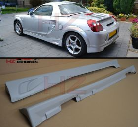 TR LOOK SIDE SKIRTS FOR TOYOTA MR2 MRS ROADSTER 1999 2006