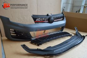 VW Golf MK7 GTi Type Front Bumper 3DR and 5DR