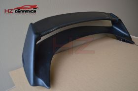 MG HALF CARBON FIBER BOOT SPOILER FOR 2006 2011 HONDA CIVIC FN2 FN FK