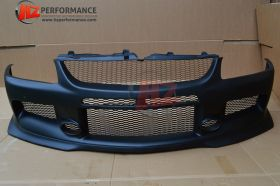 Mitsubishi Evo 8 9 MR Type Front Bumper with FRONT LIP