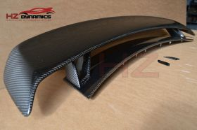 CARBON FIBER TTRS LOOK BOOT SPOILER FOR AUDI TT 2007 2014 MK2