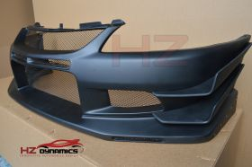 VTX LOOK FRONT BUMPER WITH CANARDS FOR MITSUBISHI EVO 8 9