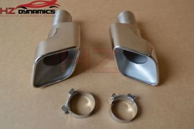 STAINLESS EXHAUST TIPS TAIL PIPE PETROL FIT RANGE ROVER SPORT AUTOBIOGRAPHY