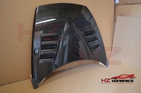 Carbon Fiber Vented Bonnet For Mazda RX8