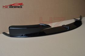 GLOSS BLACK FRONT BUMPER LIP SPLITTER VALANCE FITS BMW 3 SERIES F30 F31 M SPORT