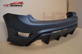Ford Focus MK2 RS TYPE rear bumper 3dr and 5dr