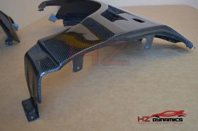 Mitsubishi Evo 8 9 VTX Type Carbon Fiber Front Fender Wider Wings +20mm