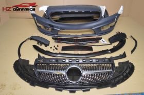 FULL BODYKIT FOR MERCEDES A CLASS W176 2013 2016 A45 PP PLASTIC UK STOCK