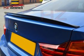 GLOSS BLACK PERFORMANCE LOOK BOOT SPOILER FOR BMW F32 4 SERIES ABS