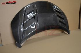 Version 2 Vented Carbon Fiber Bonnet For Honda Civic FK2 Type R