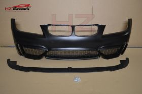 M4 LOOK FRONT BUMPER FOR BMW 3 SERIES E90 E91 LCI 2009 2012 PP PLASTIC