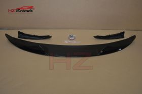 PERFORMANCE LOOK GLOSS BLACK FRONT LIP FOR BMW X5 F15 2013 2017
