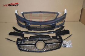 FRONT BUMPER FOR A45 MERCEDES A CLASS W176 2013 2016 PP PLASTIC UK STOCK