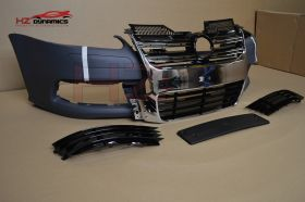 FRONT BUMPER + CHROME GRILL FOR VW GOLF MK5 R32 2005 2008