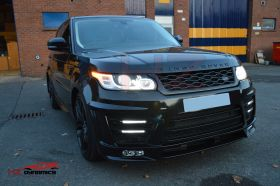 DOUBLE LED FULL BODYKIT FOR RANGE ROVER SPORT L494 2013 2017 PP PLASTIC