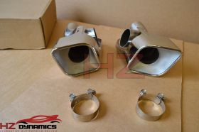 STAINLESS EXHAUST TIPS PIPES DIESEL FITS RANGE ROVER SPORT AUTOBIOGRAPHY