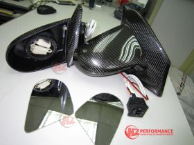 CARBON FIBER ELECTRIC WING MIRRORS HONDA CIVIC EP3 2000 2006